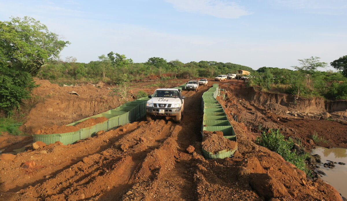 UNMISS completes rehabilitation of two bridges along Wau-Raja road