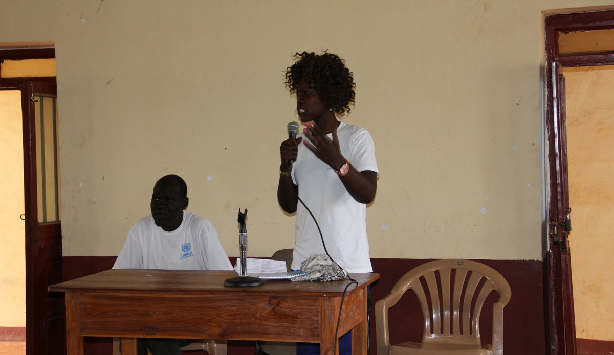Wau University students dissect the concept of peace