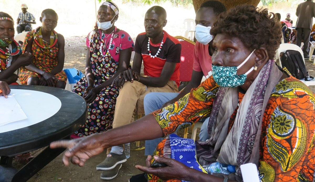 unmiss south sudan eastern equatoria state toposa buya intercommunal conflict peace dialogue resolutions women rallying