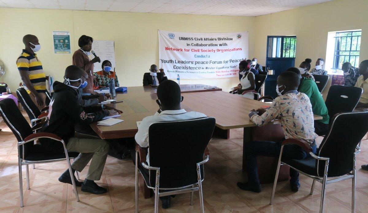 unmiss south sudan yambio western equatoria state peace forum boketto