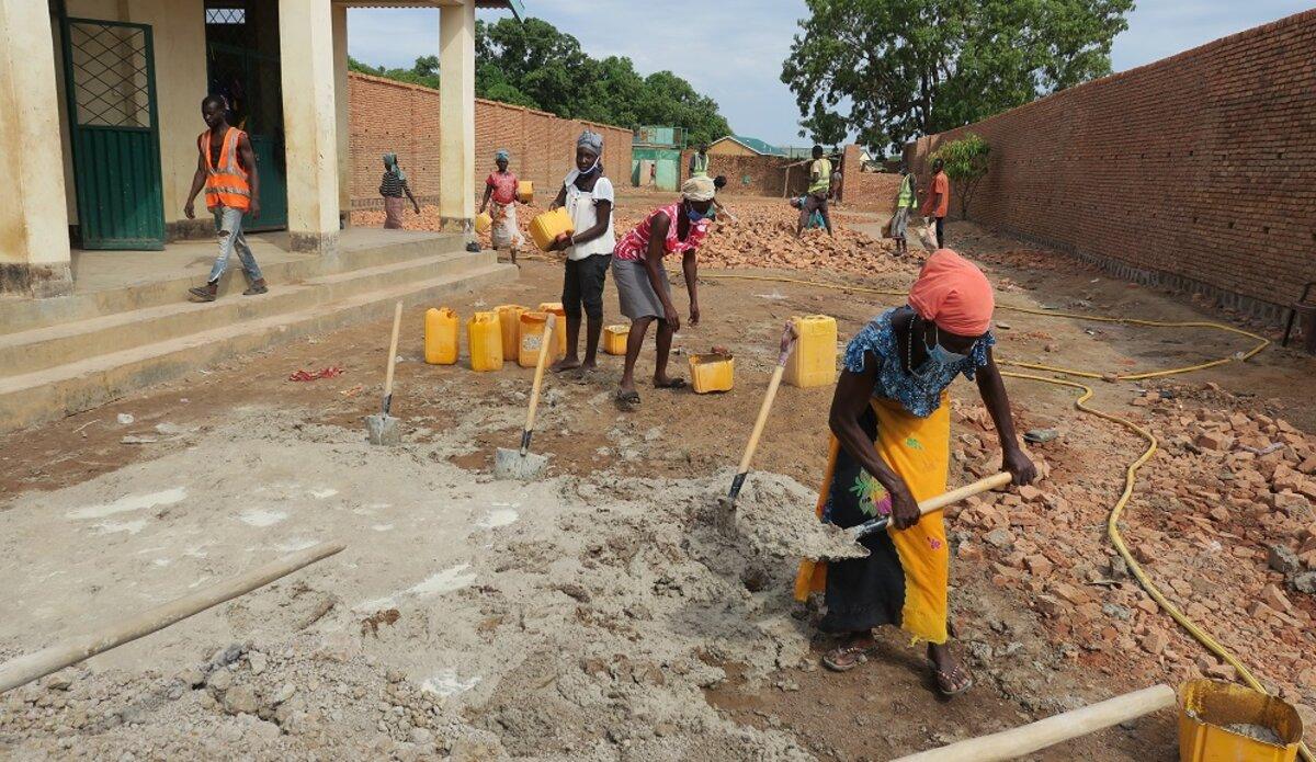 unmiss south sudan wau quick impact project prison women employment jobs