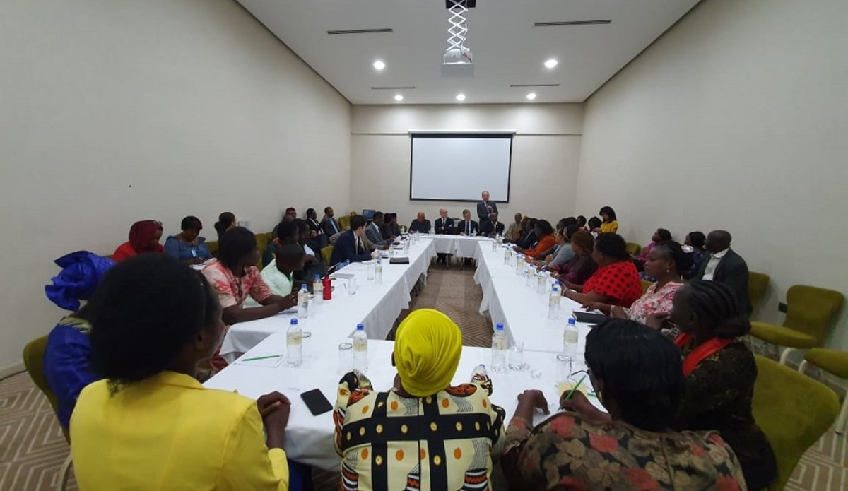 un unmiss south sudan usg lacroix igad au women representation meeting