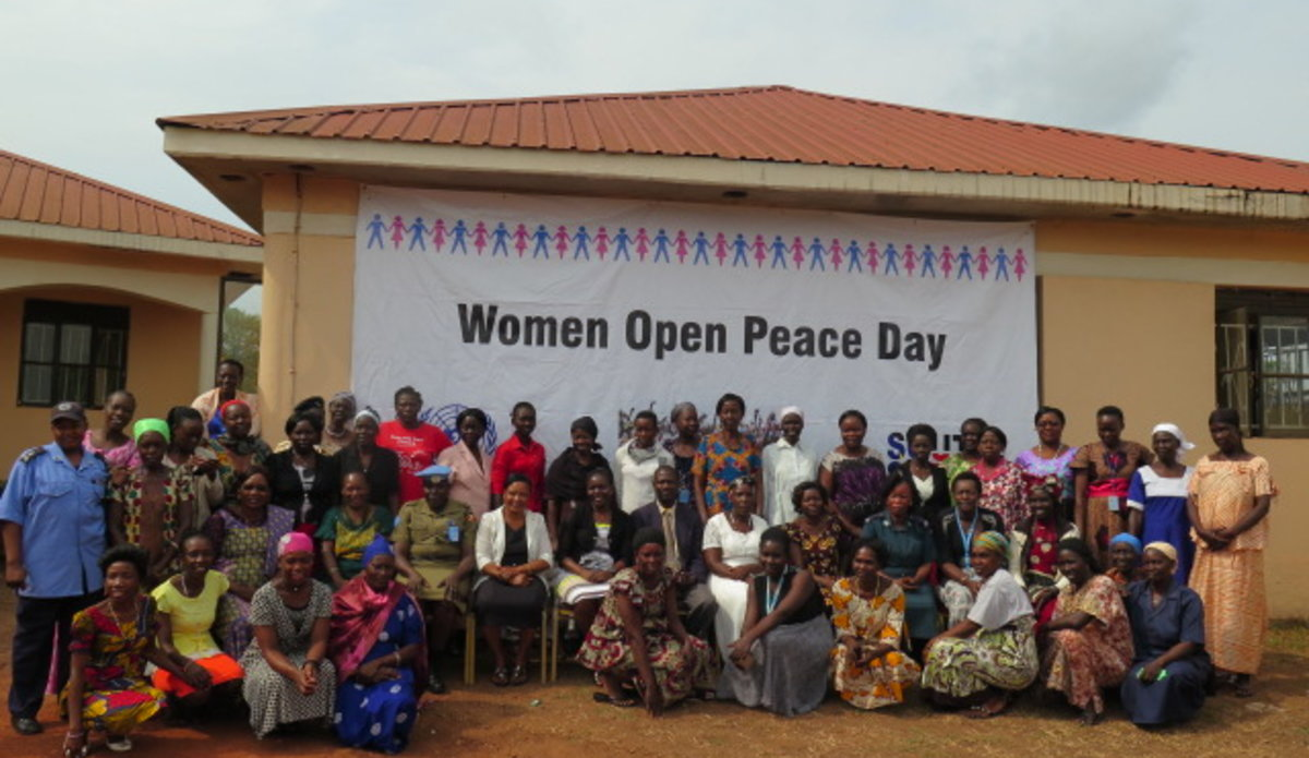 UNMISS South Sudan Women in Yambio discuss means to increase participation in conflict resolution
