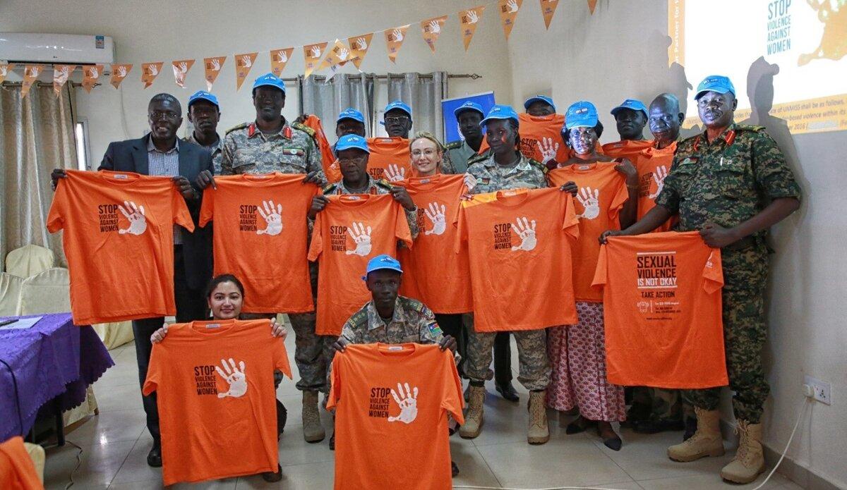 UNMISS UN Volunteers Peacekeeping peacekeepers South Sudan rule of law