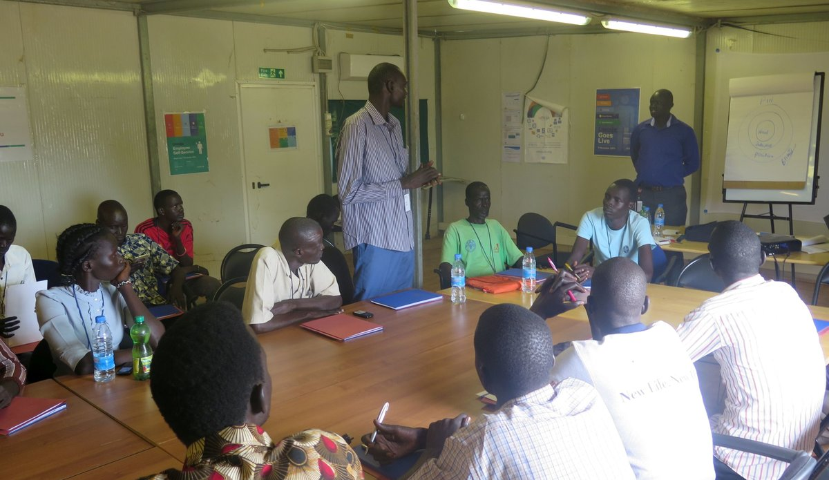 Young South Sudanese commit to working with communities to prevent conflict