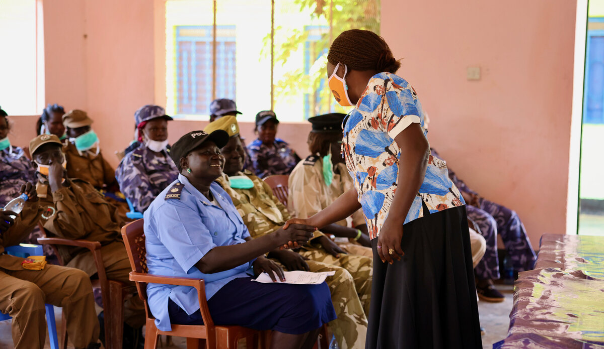 UNPOL police UNMISS South Sudan Protection of Civilians Sexual and Gender Based Violence SGBV Warrap Capacity Building United Nations
