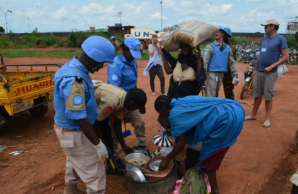 UNMISS provides protection to civilians fleeing violence in Wau