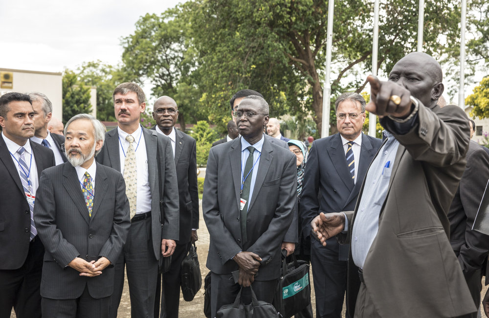 UN Security Council meets with Salva Kiir, President of the Republic of South Sudan