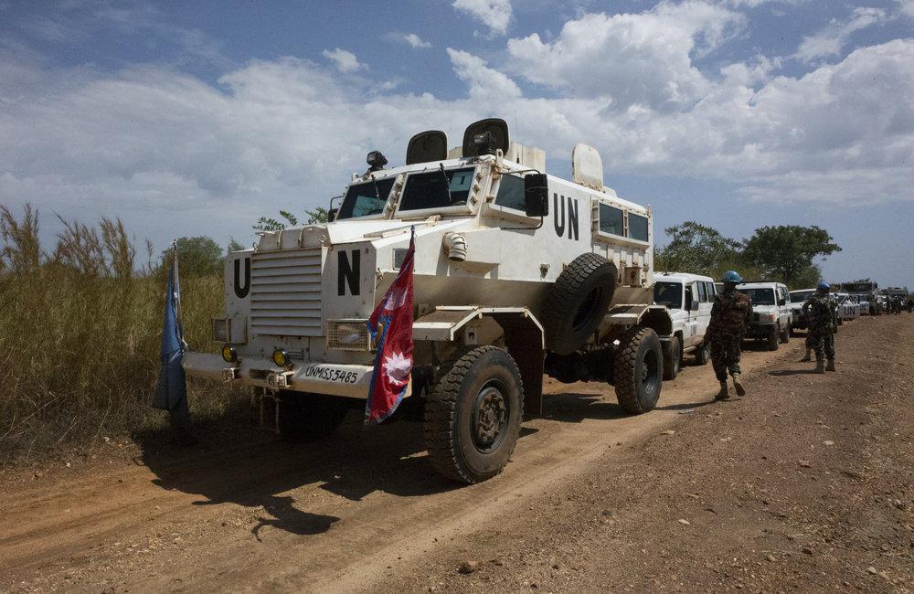 CAD & Force Protection Juba - Yei long range patrol
