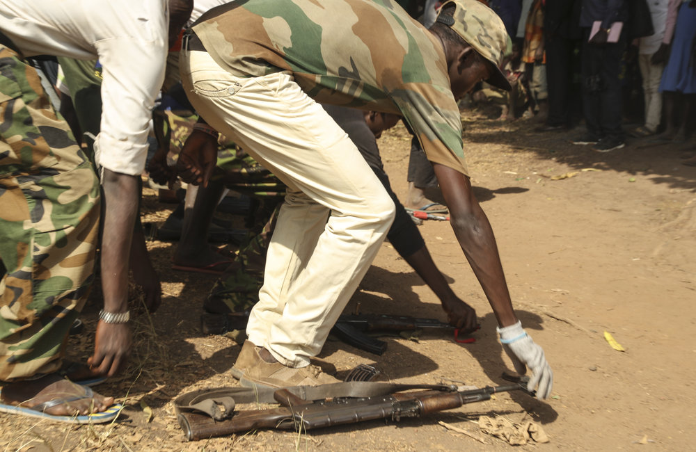 300+ former child soldiers have been released by armed groups in Yambio
