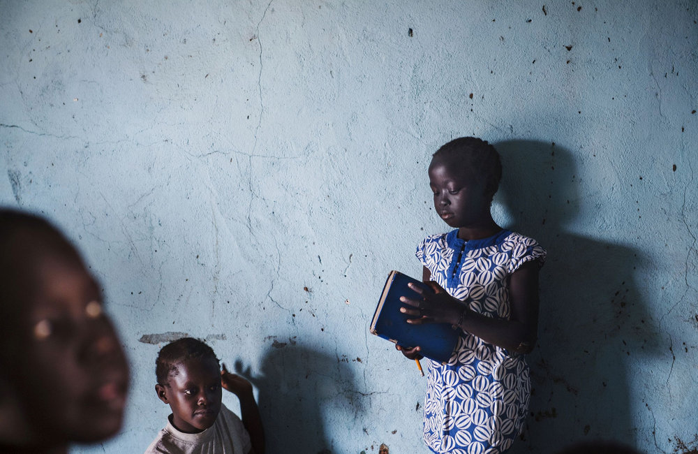 Weapons-free zone enables reopening of community school outside Juba protection site