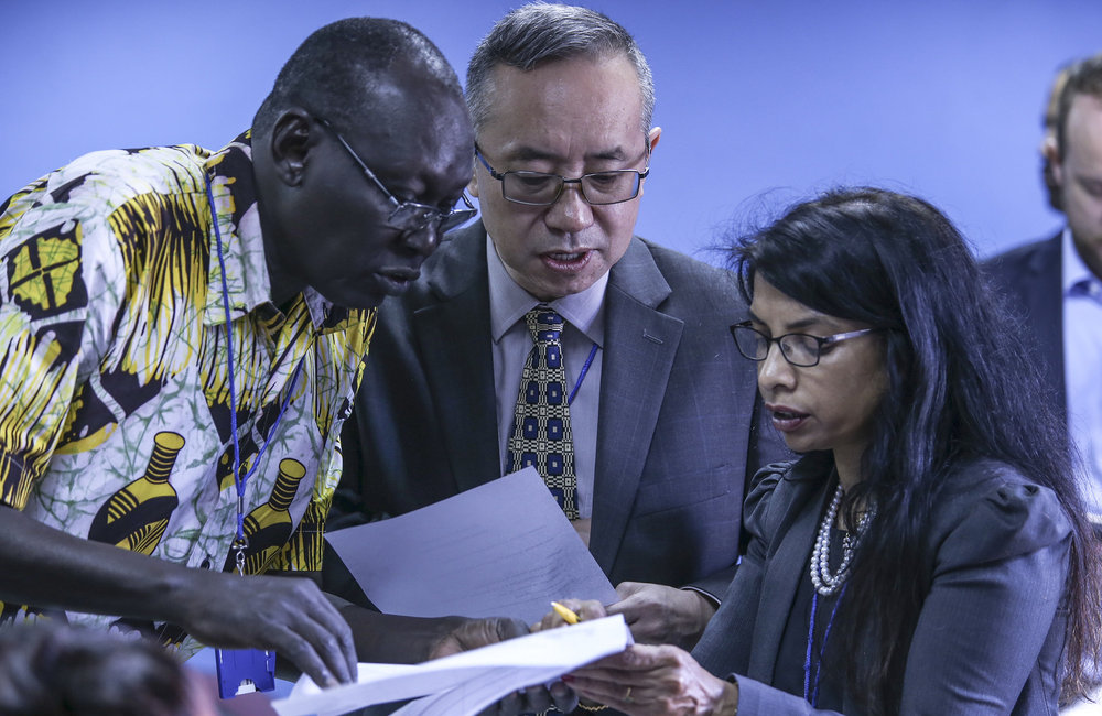 UN Security Council Delegation meets with South Sudan Civil Society