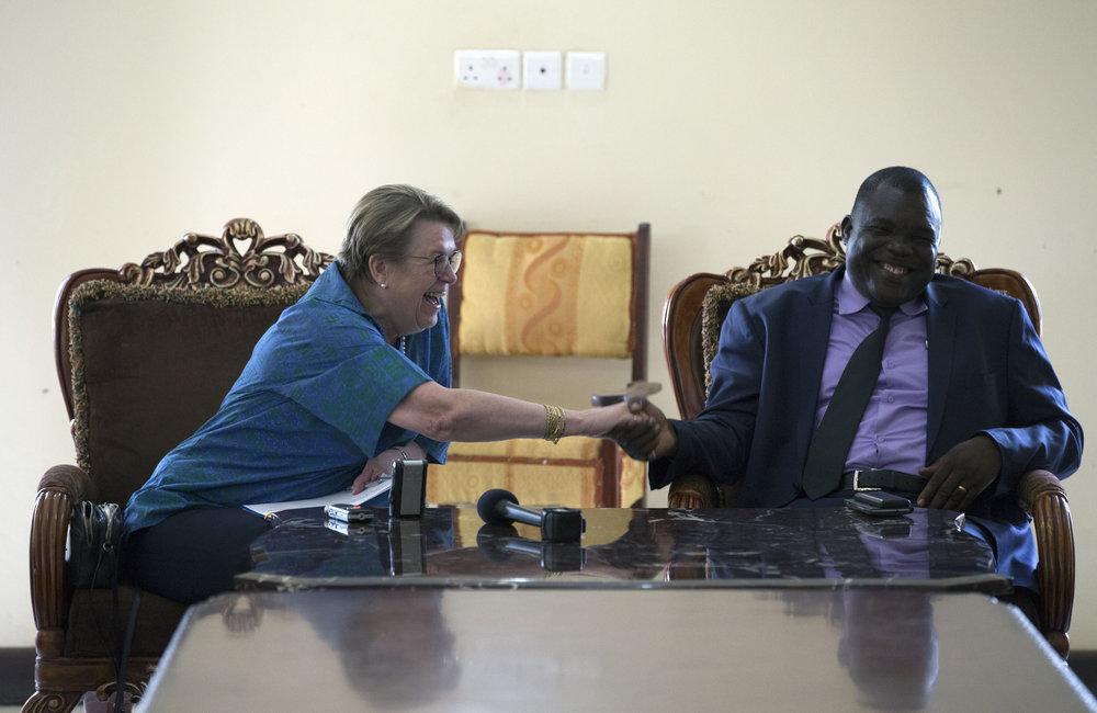 UNMISS visits Yambio
