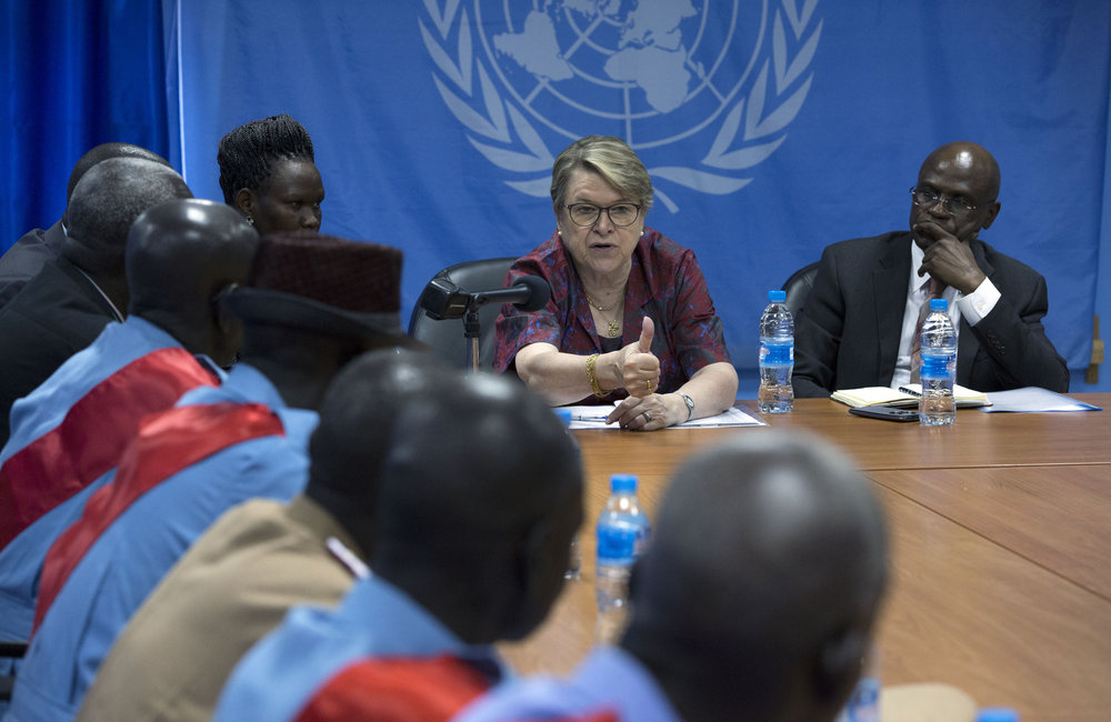 UNMISS SRSG meets with the South Sudan Council of Elders