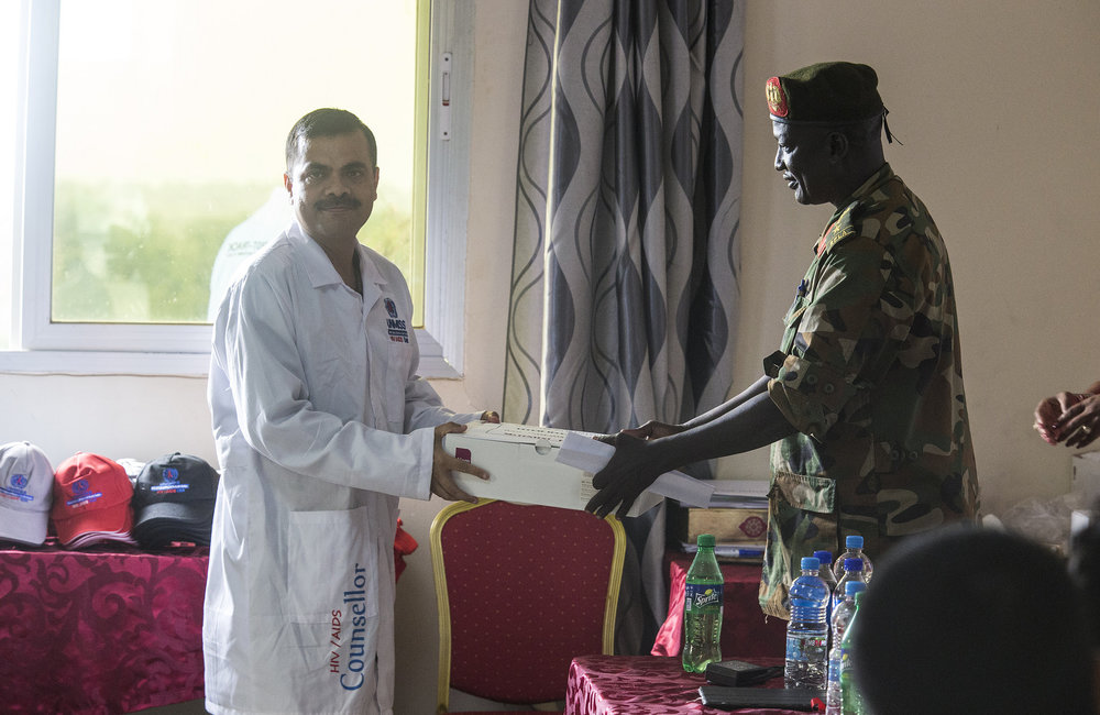 UNMISS and the South Sudan Ministry of Health graduate 30 HIV/AIDS Counselors