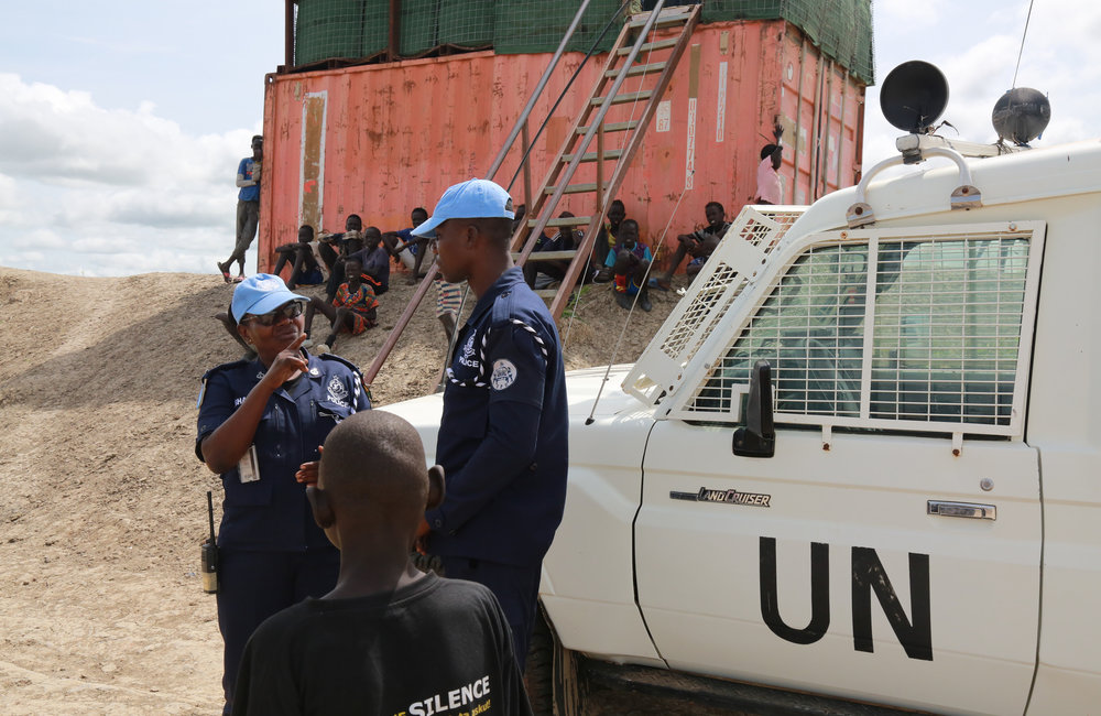 Female Ghanaian Peacekeeper at the Helm of FPU