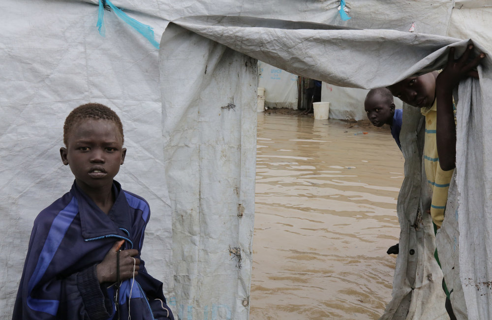 Floods in the Bor PoC site