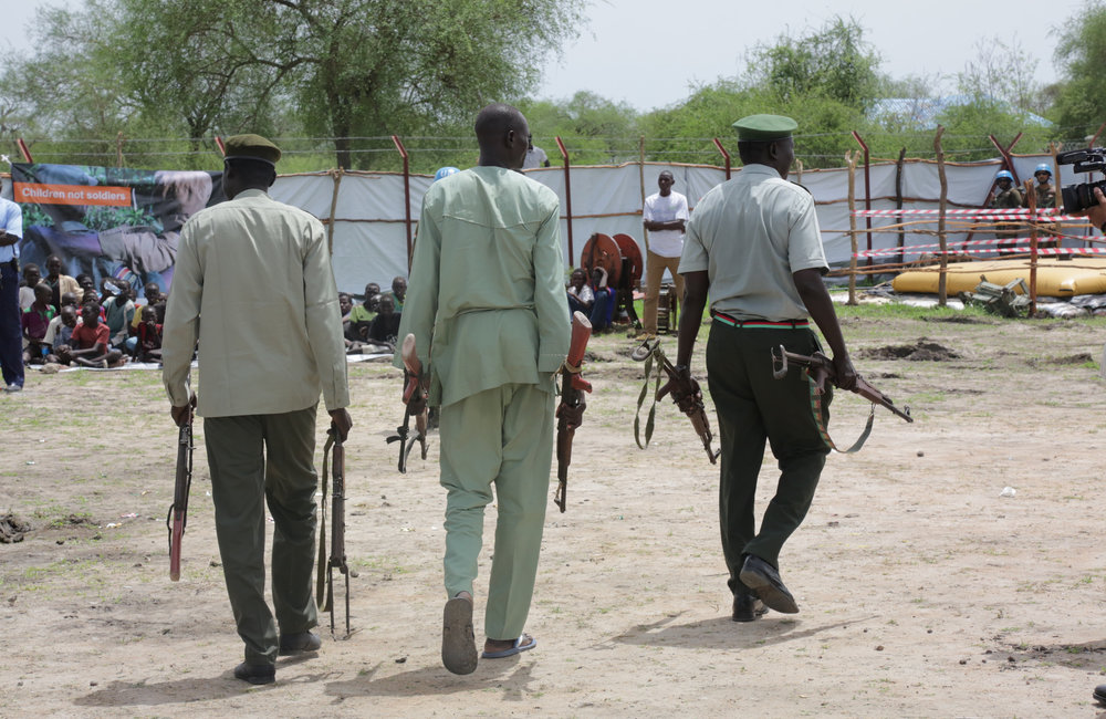 Release of Child Soldiers in Pibor