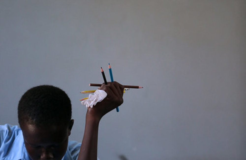 Universal Children's Day drawing competition sponsored by the UNMISS Outreach Unit
