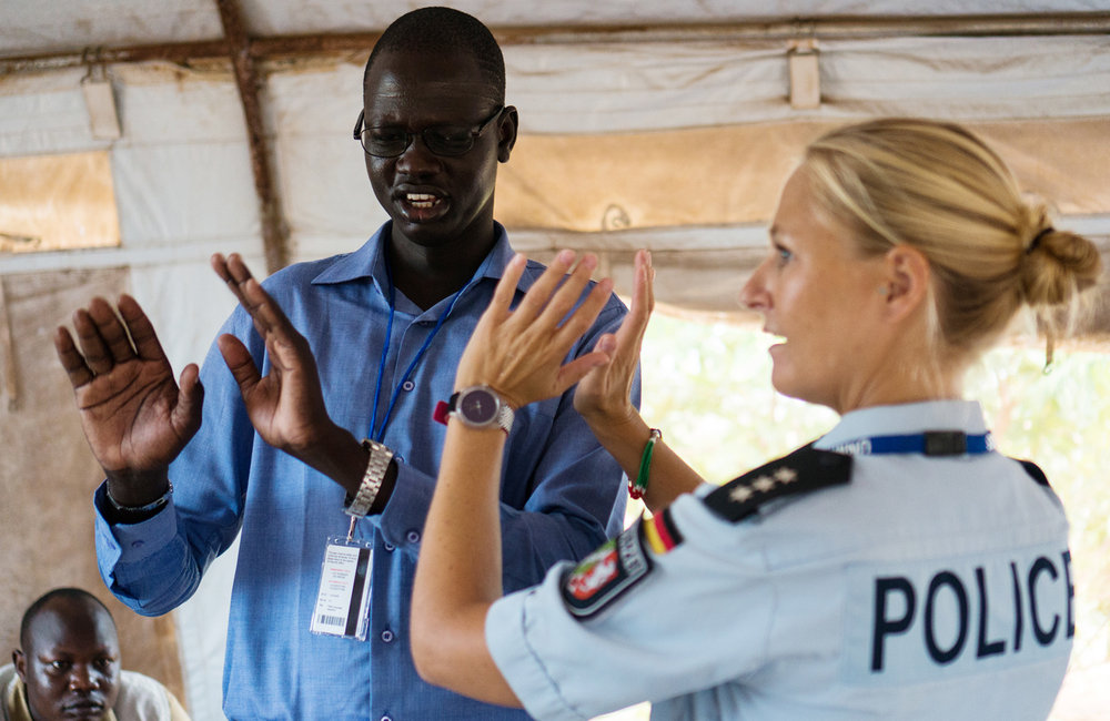 UNMISS UNPOL Launch Self-Assertiveness and Self-Defense training in PoC sites