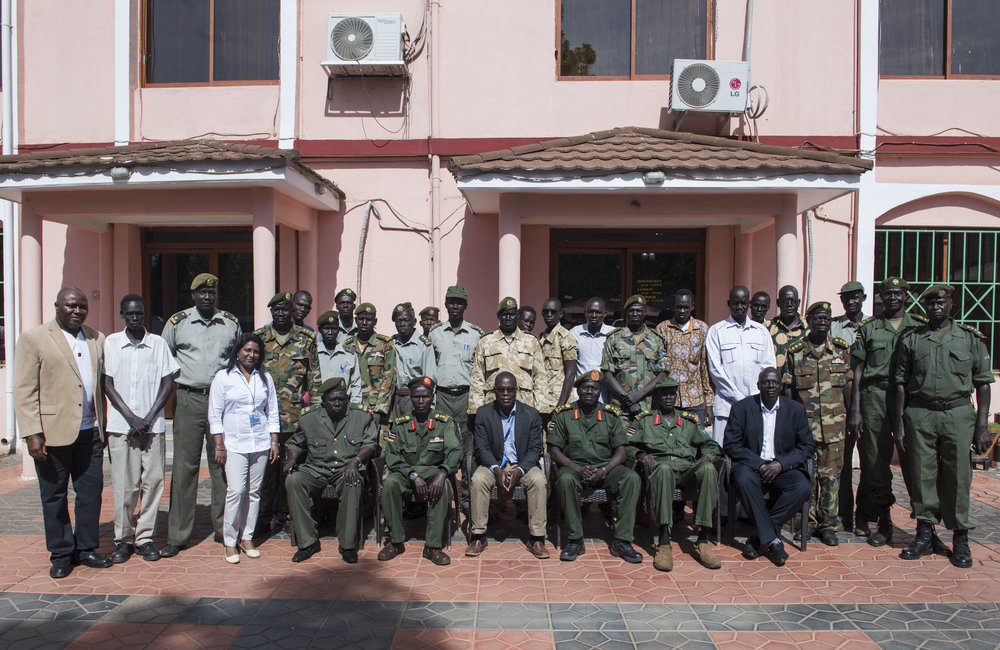 UNMISS/SPLA child protection training and workshop in Juba