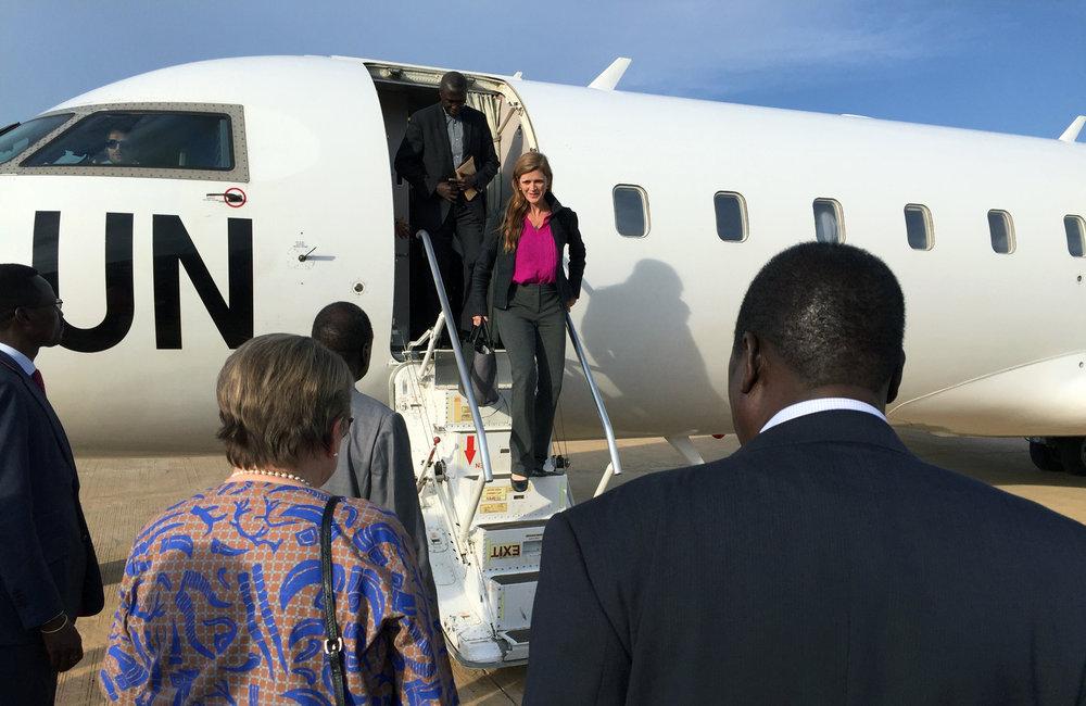 UN Security Council delegation visits South Sudan