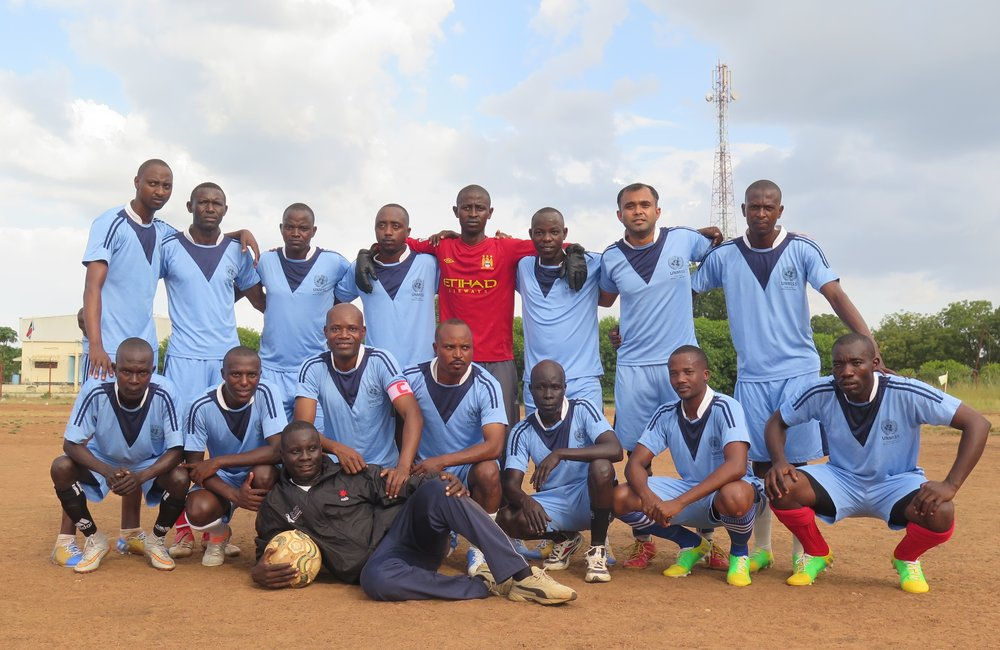 Football Match to Celebrate Opening of 'Our Lady of Holy Rosary Parish' in Torit