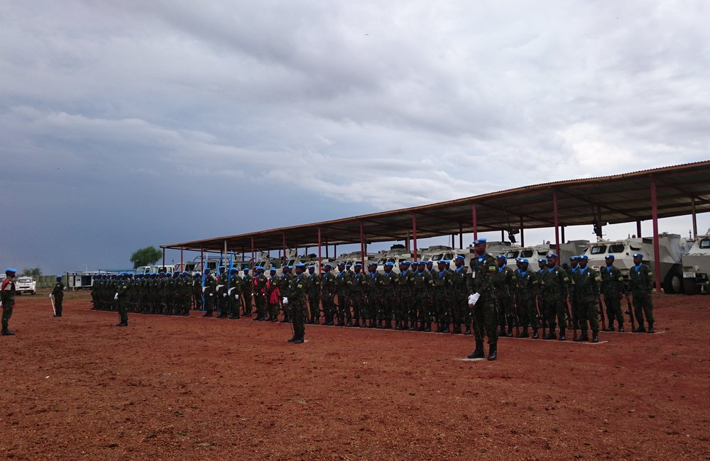 RWANBATT peacekeepers in Upper Nile receive UN medal for honourable service