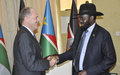UNMISS head emphasizes need for UN and government to work together in the best interests of the people of South Sudan