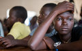 Teenager pleads for peace in South Sudan