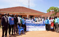 Warrap youth benefit from joint workshop on social cohesion by UNMISS, UNDP, local partners
