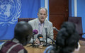 Near Verbatim Transcript of Media Briefing by the Special Representative of the Secretary-General and Head of the United Nations Mission in South Sudan Mr. David Shearer