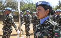 "Nepalese troops receive UN medal for ""nimble and robust"" protection of South Sudanese civilians"