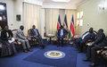President Kiir and Machar report 'important progress' following meetings in Juba
