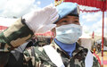 UNMISS Peacekeepers from Nepal receive UN medals for their service in South Sudan