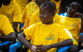 UNMISS peacekeepers record songs of peace with orphans to help them build a brighter future