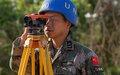 Chinese Battlion builds accomodation at UNMISS base
