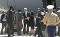 Secretary of State arrives in Juba