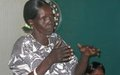 Displaced women in Malakal learn about conflict management