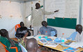 UNMISS conducts HIV/AIDS training in Rumbek