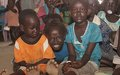 UNPOL organizes community engagement event for children in protection site