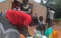 Displaced in Yambio receive first food aid