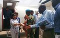 Visiting Malakal, UN Special Envoy for Sexual Violence in Conflict urges reparations for victims and end to impunity