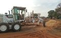 UNMISS road maintenance work from Yambio to Jambo making great headway