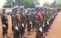 Bangladeshi peacekeepers awarded UN medals for their service in Wau and Kuajok