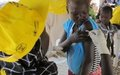 Measles and polio vaccinations begin at Bentiu camp