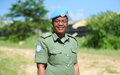 A beacon of hope: Doreen Malambo, 2020 UN Woman Police Officer of the Year