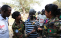 Female Bangladeshi peacekeepers inspire the women of Wau to join security forces
