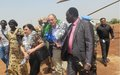 SRSG pledges support for peace efforts in the Greater Jonglei