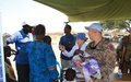 Mongolian peacekeepers provide much-needed medical care to communities in Unity